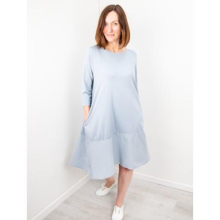 Amazing Woman Beatrix Jersey Dress - Blue