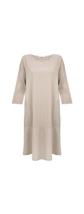 Amazing Woman Beatrix Jersey Dress Fango