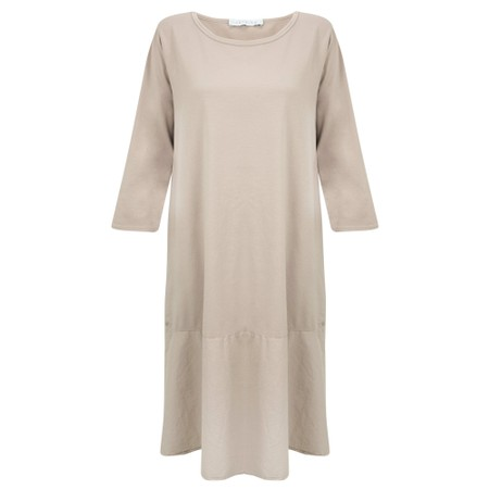Amazing Woman Beatrix Jersey Dress - Brown