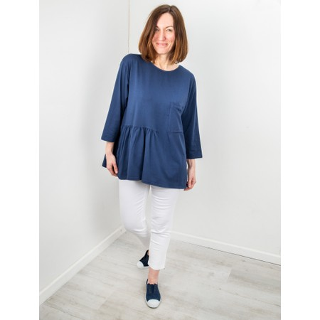 Amazing Woman Bobby Jersey Top - Blue
