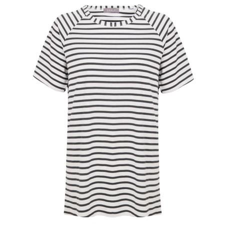 Chalk Darcey Stripe Top - Beige
