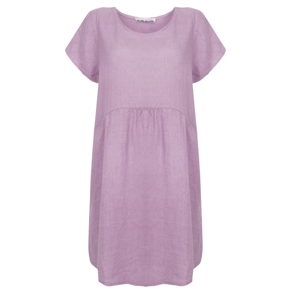 Amazing Woman Lexia Linen Dress  Lilac
