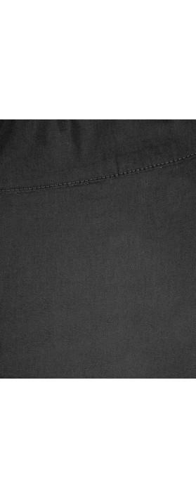 Foil Trapeze Black 7/8 Pull on Trouser Black