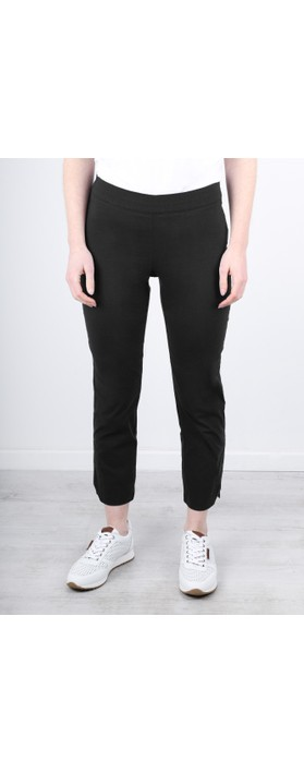 Foil Trapeze Black 7/8 Pull on Trouser Black