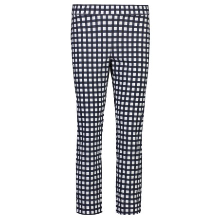 Foil Fuss Free 7/8 Taper Capri Trouser - Blue