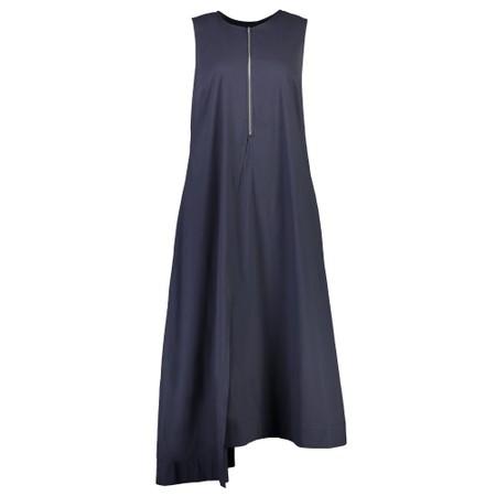 Foil Swede Sensations Trapeze Dress - Blue