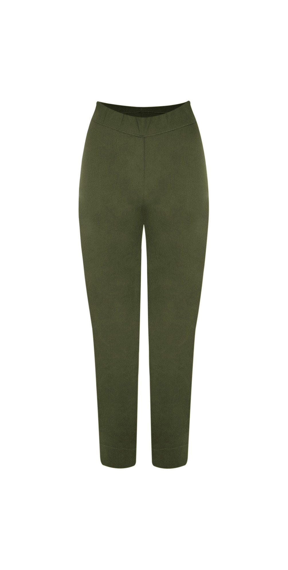 Trapeze Olive 7/8 Pull on Trouser main image