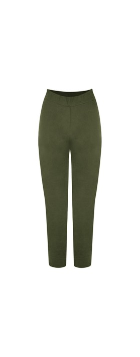 Foil Trapeze Olive 7/8 Pull on Trouser Olive