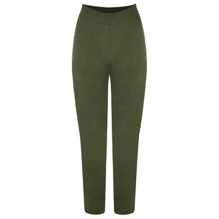 Foil Trapeze Olive 7/8 Pull on Trouser - Green