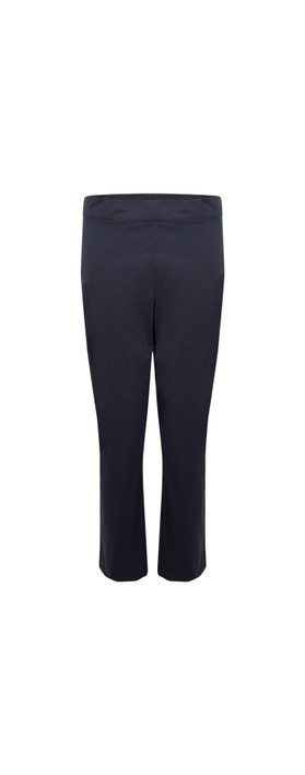 Foil Fuss Free 7/8 Taper Capri Trouser True Blue