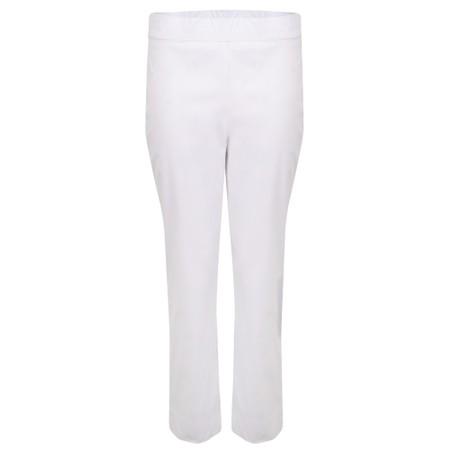 Foil Fuss Free 7/8 Taper Capri Trouser - White
