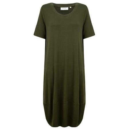 Foil Subtle Statements Bubble Dress - Green