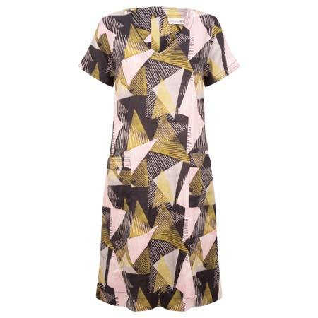 Foil Global Gathering Dress - Multicoloured