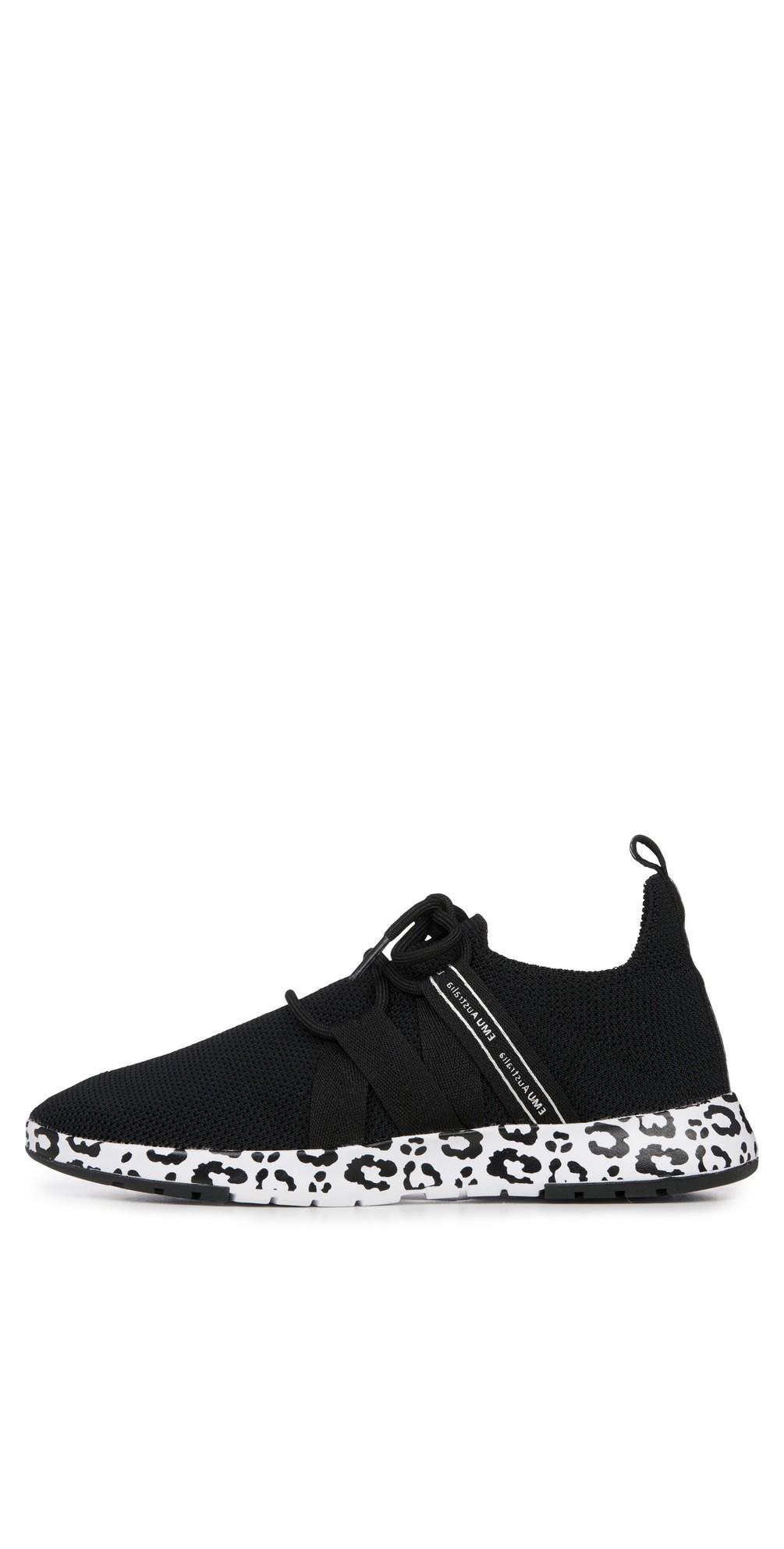 Leura Black Leopard Washable Sneaker main image