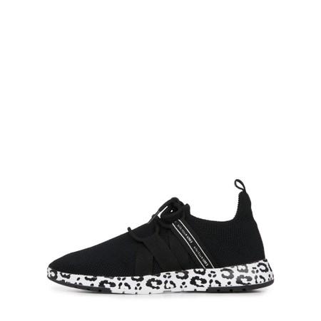 EMU Australia Leura Black Leopard Washable Sneaker - Multicoloured