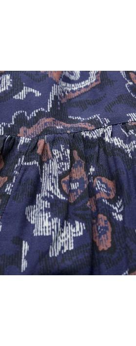 Masai Clothing Nari Dress Crown Blue
