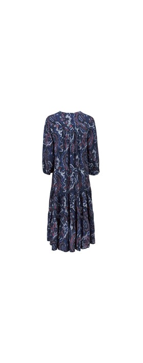 Masai Clothing Nari Dress Crown Blue