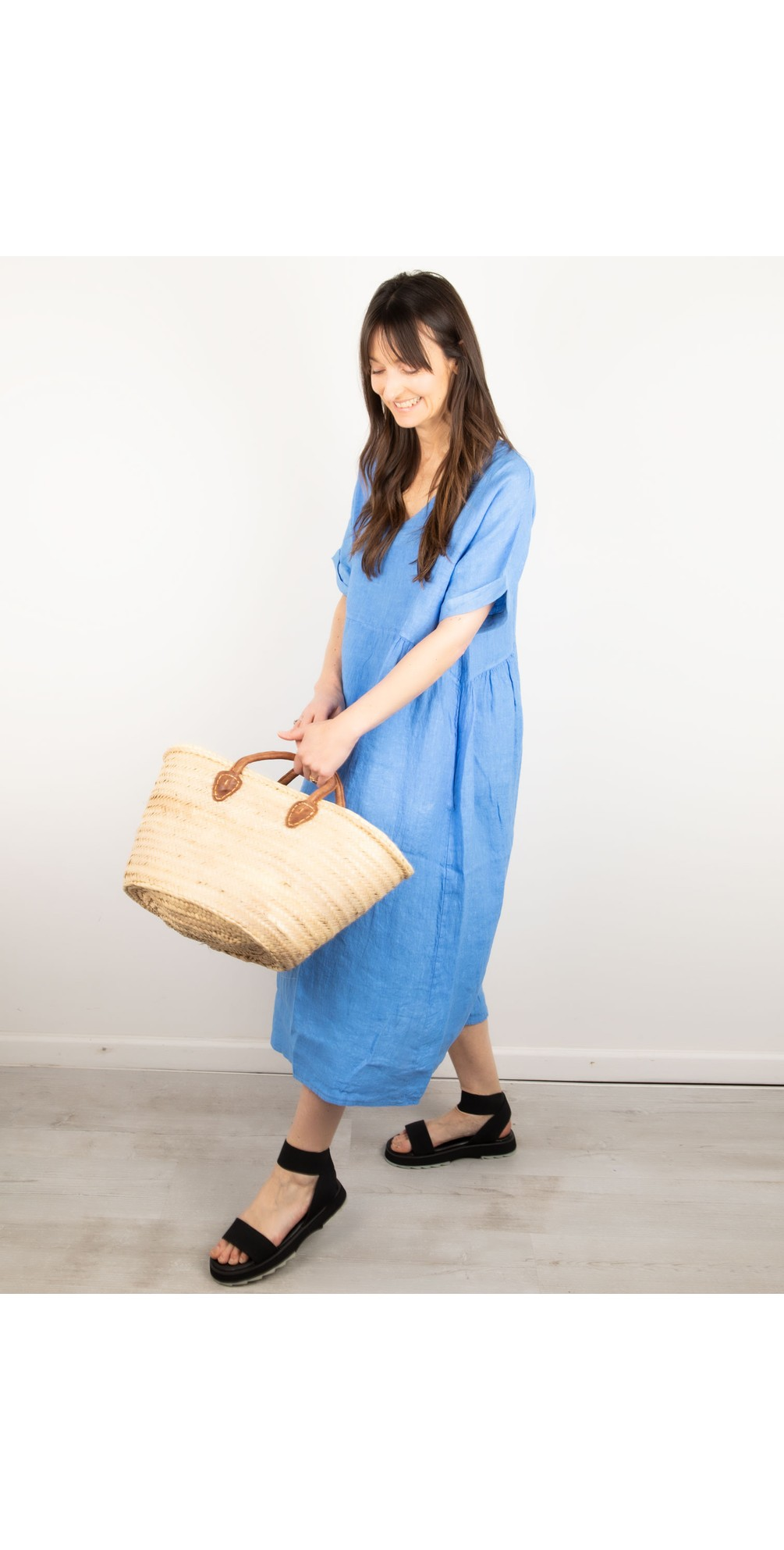 Tesa Midi Linen dress  main image