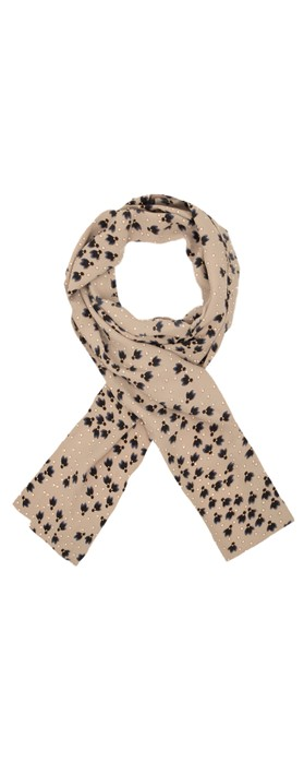 Masai Clothing Along Scarf Clematis Blue