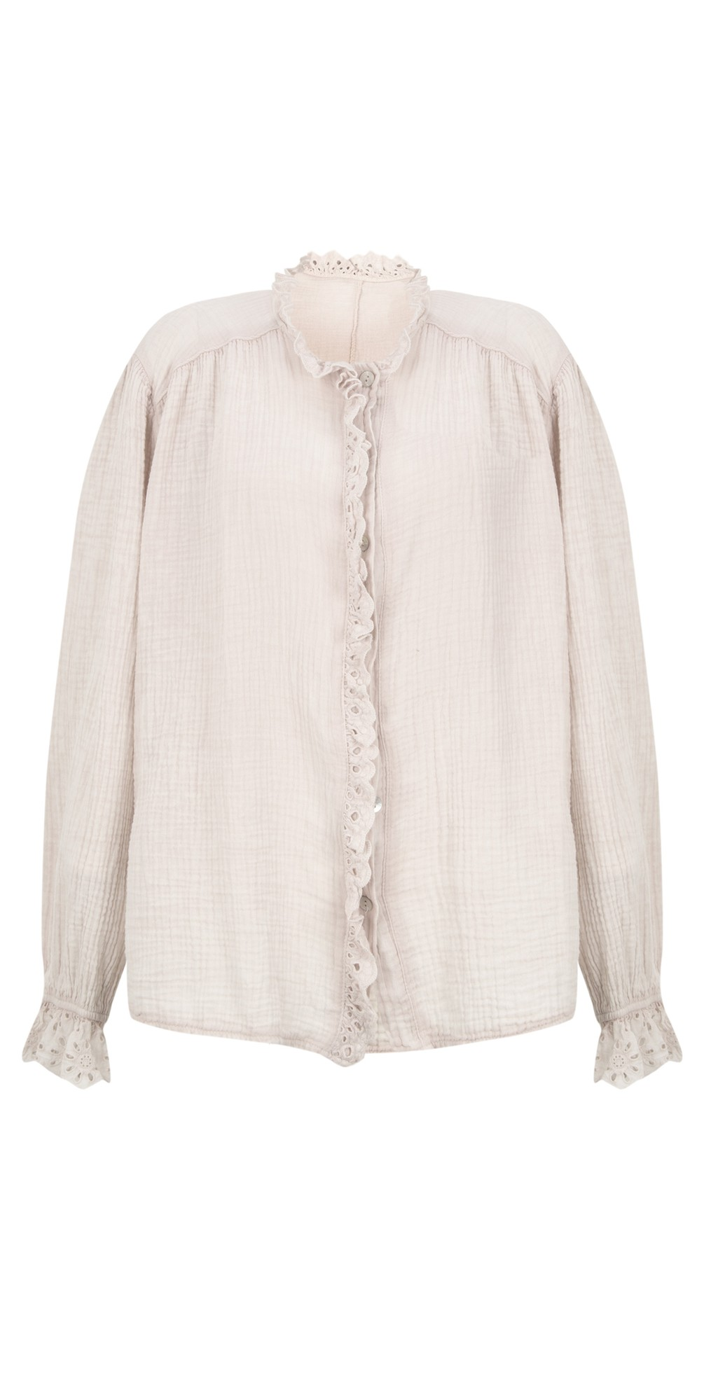 Sienna Broderie Anglaise Trim Shirt main image