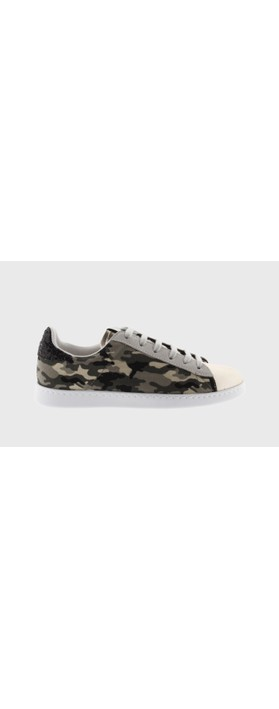 Victoria Shoes Tennis Recycled Cotton Camouflage Trainers Militar Camo