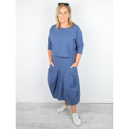 Thing Sara Stripe Skirt - Blue