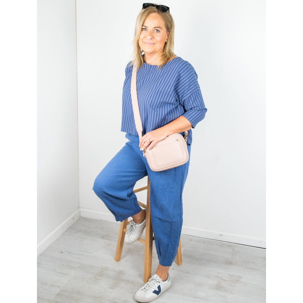 Thing Tyra Linen Trousers Sapphire