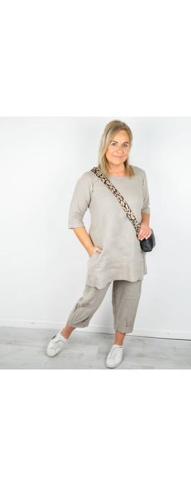 Thing Mira Seamed Linen Tunic Linen