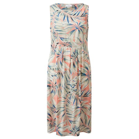 Adini Marin Hothouse Print Dress - Orange