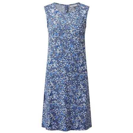 Adini Orchid Crosby Print Dress - Blue