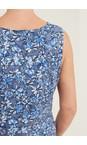 Adini Indigo Orchid Crosby Print Dress