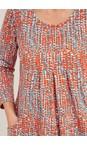 Adini Multi Caplla Summer Spot Print Tunic