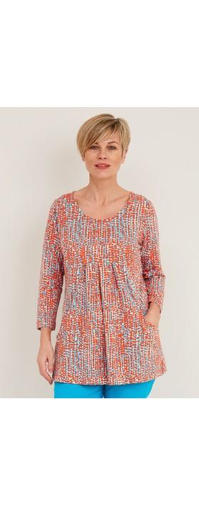 Adini Caplla Summer Spot Print Tunic Multi