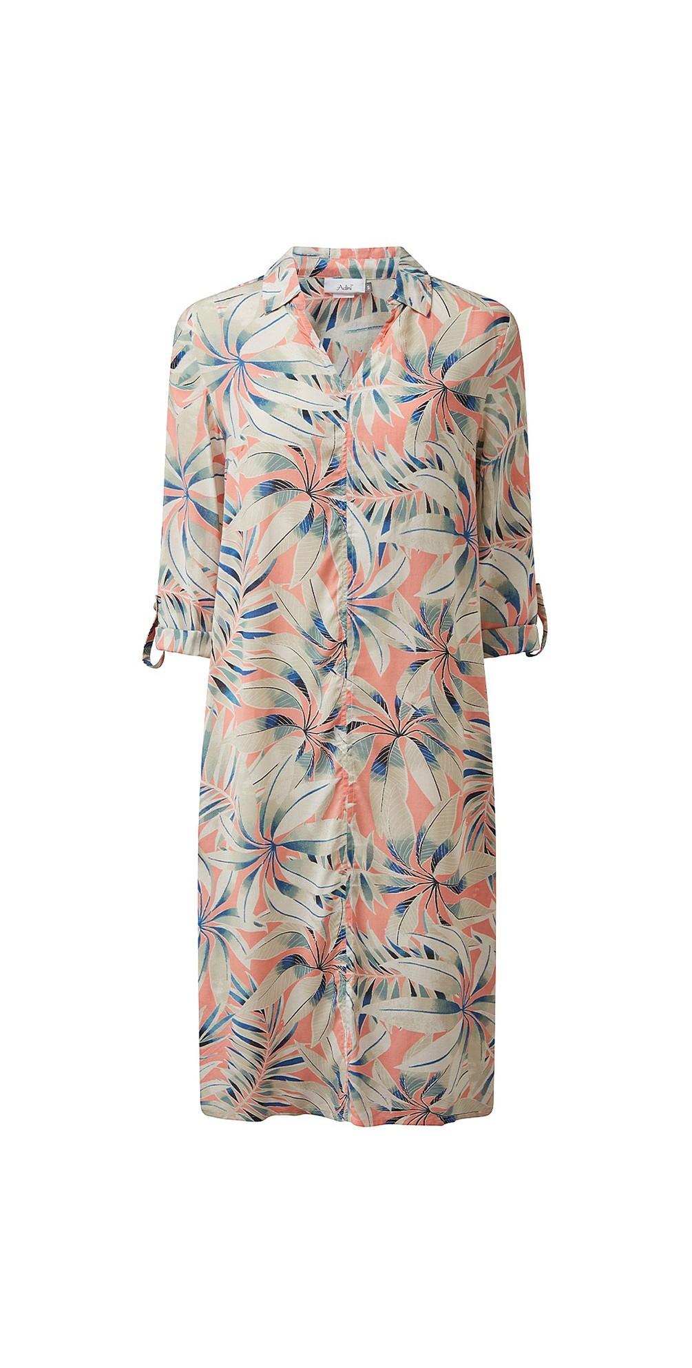 Dominica Hothouse Print Dress main image