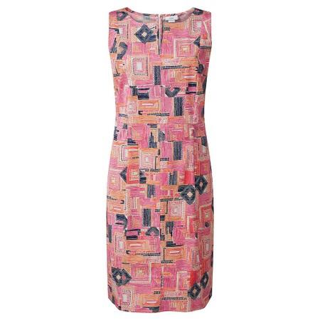 Adini Dona Piazza Print Dress - Multicoloured