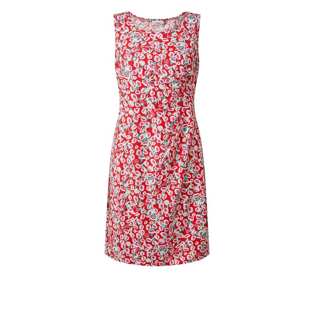 Adini Coco Lollipop Print Dress Flame