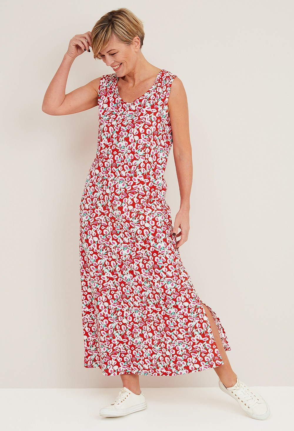 Adele Lollipop Print Dress main image