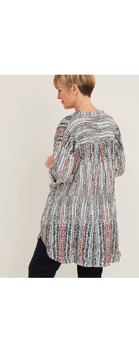 Adini Mira Horizon Print Tunic Multi