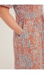 Adini Multi Vega Summer Spot Dress