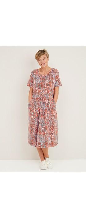 Adini Vega Summer Spot Dress Multi