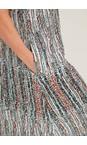Adini Multi Cressida Horizon Print Dress