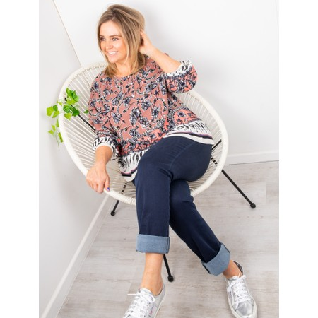 Amazing Woman Moonlite 02 Straight Leg Jeans - Blue