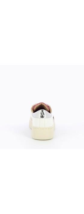 Vanessa Wu Remi Lightning Trainer Beige / Silver / White