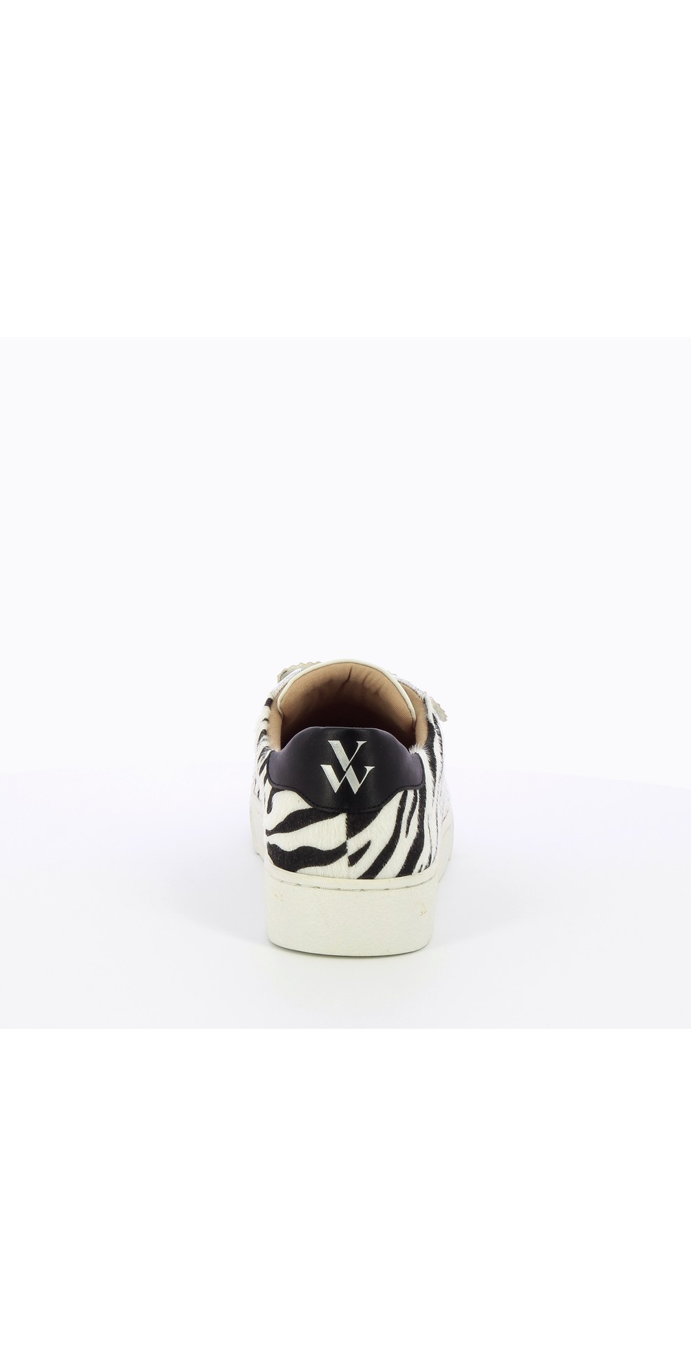 Manon Zebra Print Velcro Trainer  main image