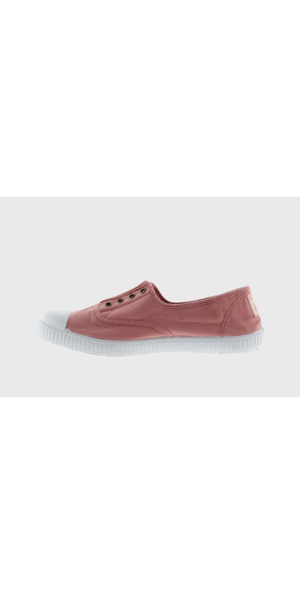 Dora Pink Organic Cotton Washable No Lace Pump main image