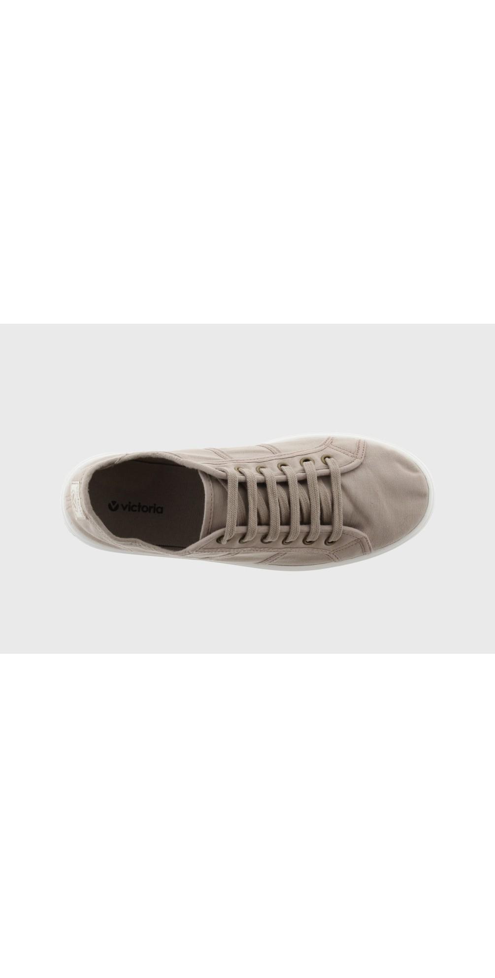 Barcelona Organic Cotton Washable Flatform Trainer Shoe  main image