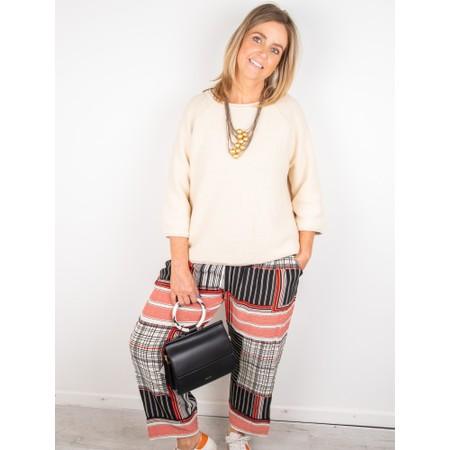 Masai Clothing Petrino Trouser - Red