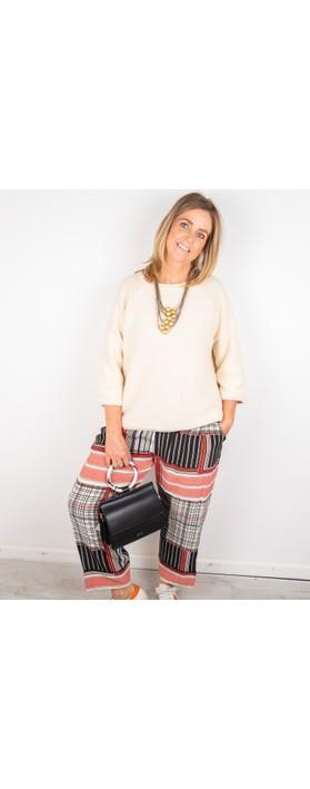Masai Clothing Fenji Cotton Knit Whitecap