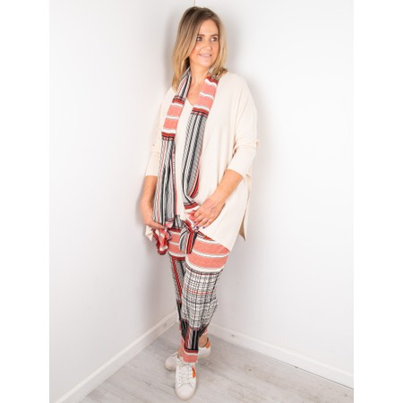Masai Clothing Fosna Oversized Knit - Off-White