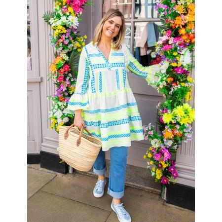 TOC Ella Greek Style Tunic Dress - Multicoloured